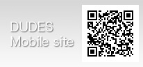 デューズサイトは携帯からもご覧いただけます。QRコードを利用してぜひアクセスしてください